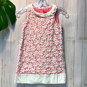 Gymboree Easter Dress Pink with Daisies Sleeveless